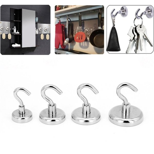Strong Magnetic Hook Mini Heavy Duty Hanger Durable For Home Kitchen Refrigerator 66CY