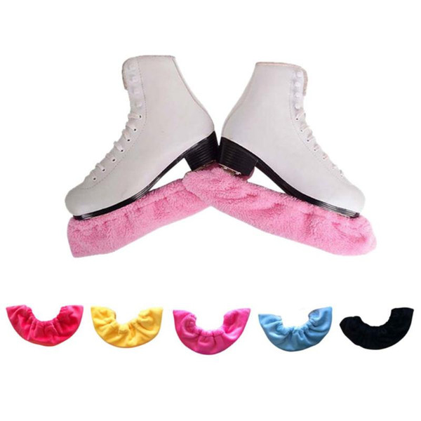 Covers Pink 2 Pairs Adjustable Figure Skating Ice Skate Blade Guards