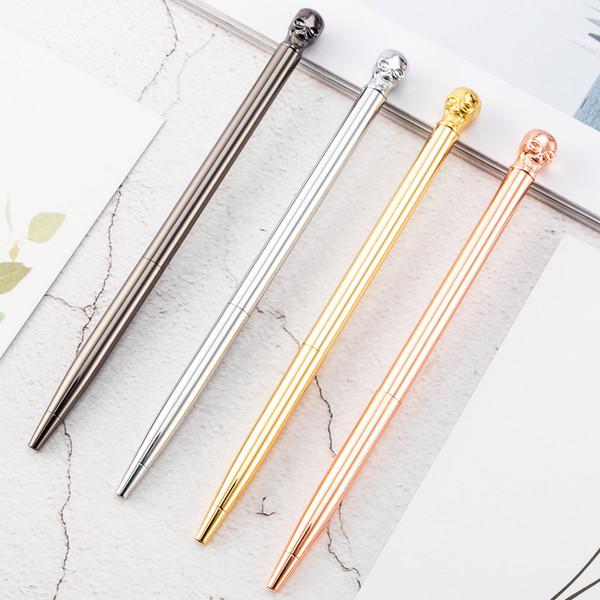 Pens Wholesale Metal Pen Gift Pens Black Ballpoint Pen Rose Gold Advertising Pens Promotional