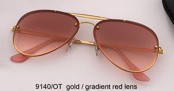 9140 / OT الذهب / التدرج الأحمر