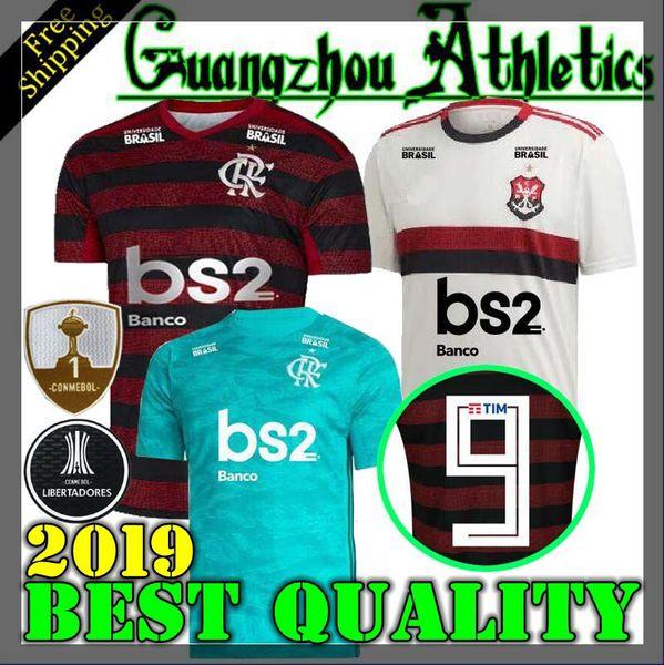 19 20 camiseta flamengo 2019 2020 Flamenco Camisetas de fútbol DIEGO Camiseta sin mangas Flamengo camiseta roja y deportiva de Brasil color negro negro AWAY azul