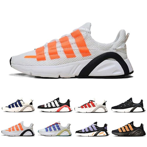 Acheter Adidas Lxcon 600 Running Shoes New Kanye West Sneaker GORE TEX For Men Women Pure White Fluorescent Green Grey Trainers Outdoor Sports