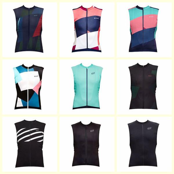 MAAP Team Radfahren ärmelloses Trikot Weste atmungsaktiv schnell trocknend Polyester neue Outdoor Fahrrad Qualität Sommer Kleidung Herren U72521