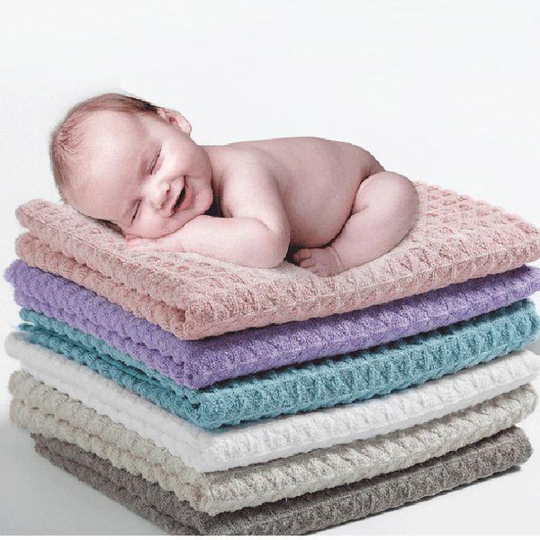 Ультра-мягкая пенка для умывания вафельное полотенце пользовательских высокого класса подарок полотенце ванны