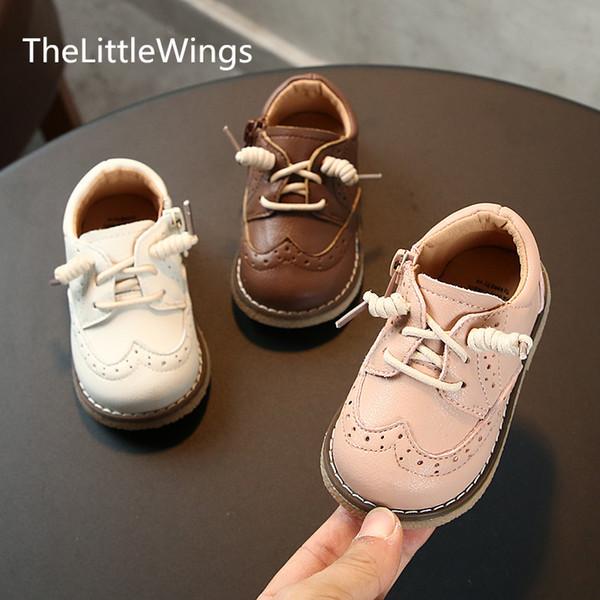 Stivali invernali autunnali Novità Scarpe bambina 0-1-3 anni Scarpa principessa bambino Antiscivolo Stile britannico super morbido e confortevole