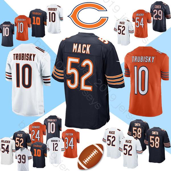 san francisco 2e62b b6058 2019 52 Khalil Mack Jersey Bears Jersey 10 Mitchell 34 Walter Payton 39  Eddie Jackson17 Anthony Miller Jerseys From Ball_2019_jerseys, $22.05 | ...