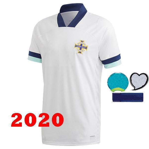 2020 weg weiß 3 Patch