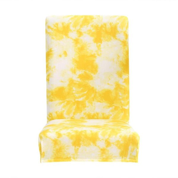 Strange Tie Dye Craft Graffiti Pattern Removable Chair Cover Elastic Slipcover Yellow Sofa Seat Covers Online Chair Sashes Rental From Curteney 40 19 Creativecarmelina Interior Chair Design Creativecarmelinacom