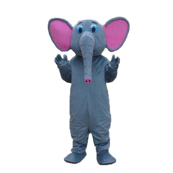New elephant mascot costumes Long nose and Big ears