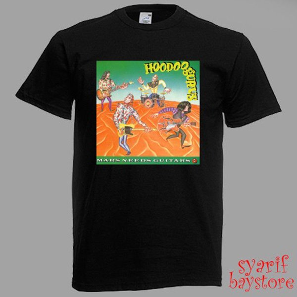Hoodoo Gurus Band New Black Custom T-Shirt T Shirt Men/'s