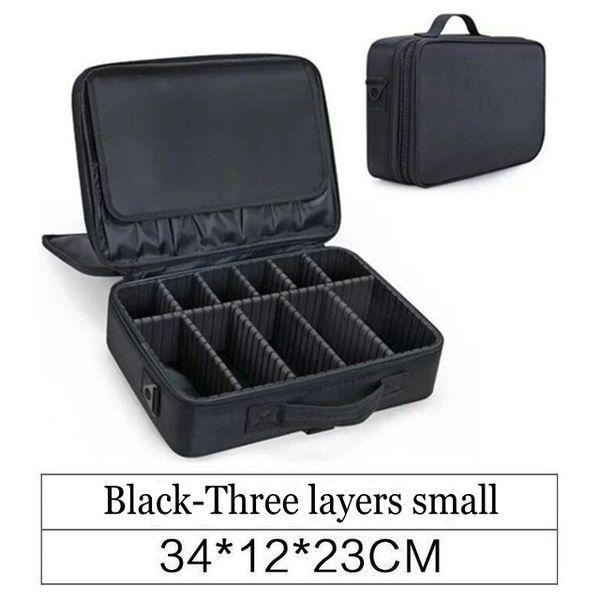 black small 3 layer