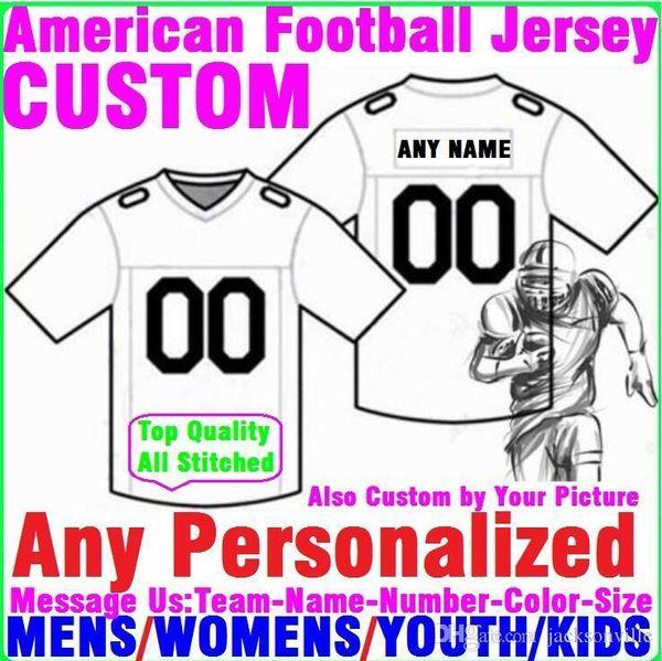 top popular Personalized american football jerseys Custom Minnesota Dallas college authentic cheap baseball basketball mens womens youth USA 4xl first 2019