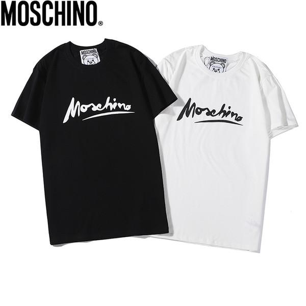 S-XXL tshirt yeni yaz tasarımcılar gömlek Avrupa Amerikan popüler BOSSprinting tişört erkek kadın çiftler luxurys tişört 2020Fashion erkek