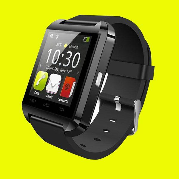 Hot U8 SmartWatch Pantalla táctil con ranura para tarjeta SIM GT08 A1 DZ09 Reloj de pulsera para Android Teléfono Smartphones Bluetooth Reloj inteligente