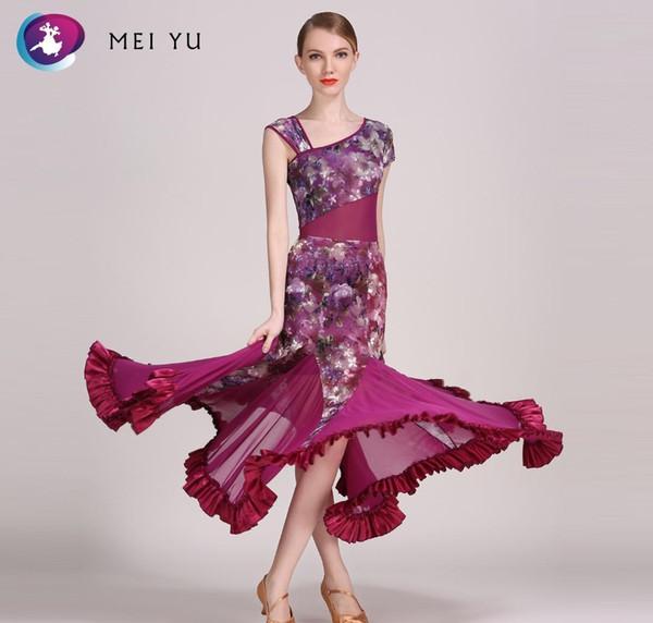 MEI YU 318 e 78 Modern Dance Costume Top body e vestiti di pannello esterno del vestito di ballo della sala da ballo costume da sera delle donne di vestito dal partito Lady