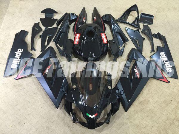 Nuevo kit de carenados para Aprilia RS4 RSV125 RS125 06 07 08 09 10 11 RS125R RS-125 RSV 125 RS 125 2006 2007 2008 2009 2010 2011 personalizado negro