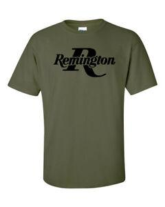 Remington BlaCustom Logo T-Shirt 2ª Enmienda Pro Gun Marca Camiseta Rifle Escopeta Nuevo