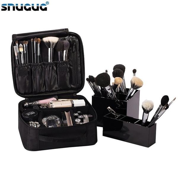 Travel Fashion Waterproof Cosmetic Case Large Capacity Portable Ladies Professional Makeup Bag Organizer Storage Bag Suitcases Q190430