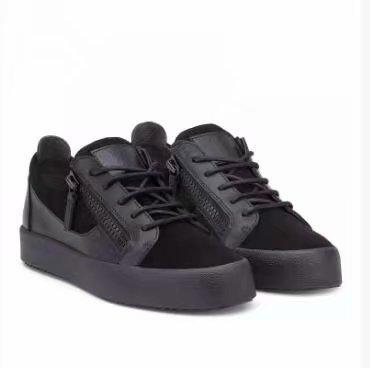 Cuir de grain de crocodile noir de haute qualité pour les chaussures pour hommes et femmes, baskets mode de haut niveau chaoliu my889607