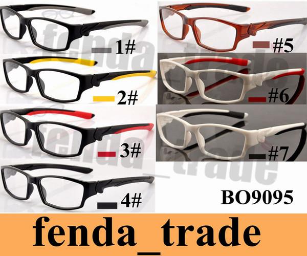 best selling 7 colors Fashion eyewear TR90 Frame Men Women Sports Sunglasses Fashion Eyeglasses Male Driving Eyewear TOP quality HOT SALE MOQ=5pcs 9095