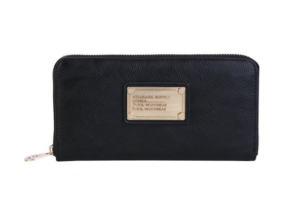 Hot sale and wholesale 2019 fashion ladies single zipper cheap wallet designer women pu leather wallet lady ladies long purse