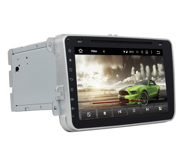 "4GB RAM 64GB ROM Octa Core 2din 8"" Android 8.0 Car DVD Player for Skoda Octavia Fabia Superb VW Volkswag Passat Tiguan Touran Seat Golf Polo"
