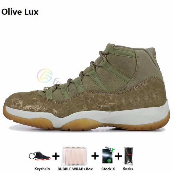 11s-Olive Lux