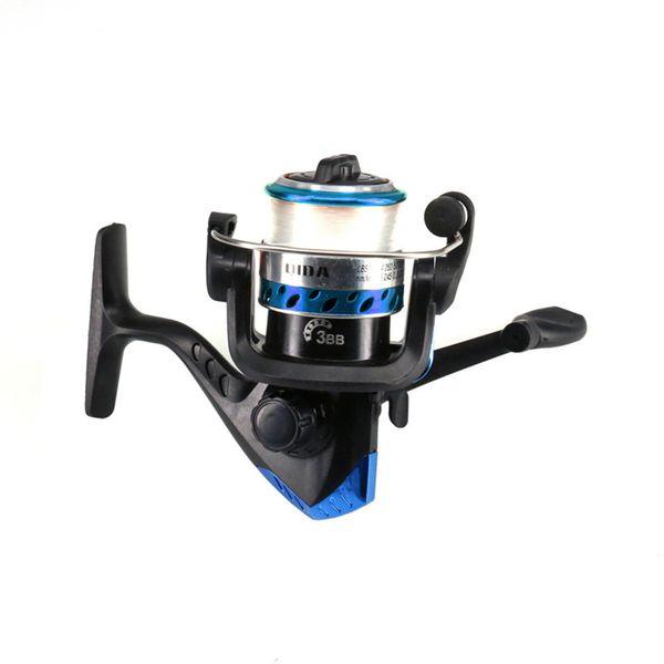 1.8m/2.1m spinning fishing rod combo full kit telescopic fishing pole set with spinning reel line lures hooks thumbnail