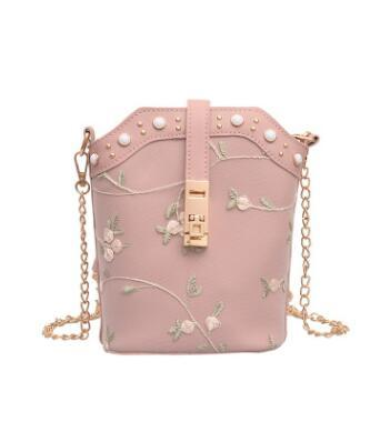 Spring 2019 new tide bucket hand b/l shoulder bag Korean version of joker cross-body bag bucket bag 03