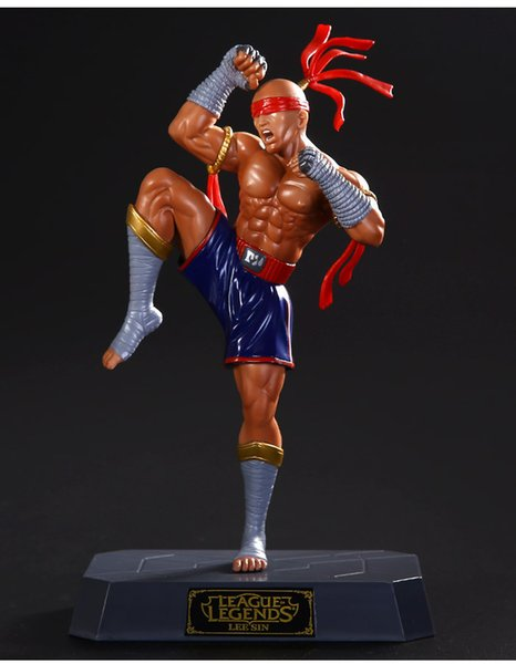 League of Legends Lee Sin Anime Figures Action Figure Valentine's Day Gifts Toys Birthdays Gifts New Arrvial Hot Sale Free Shipping