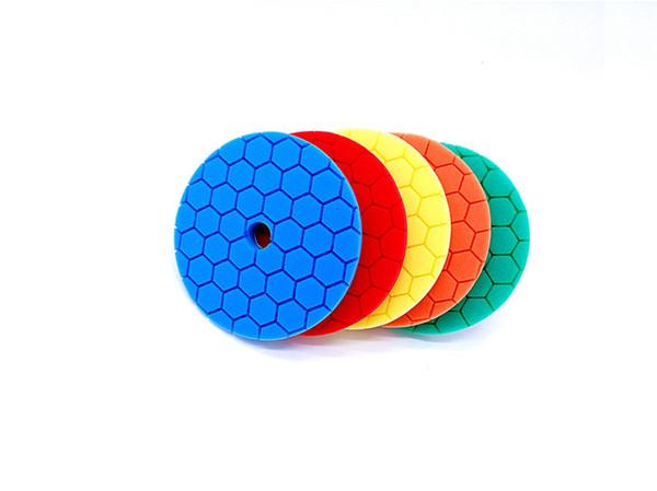 Set of 5 High Quality 6 Inch Buffing Pad 15mm thickness car sponge pad polishing