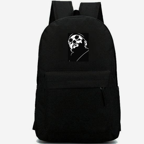 Leon backpack Jean Reno daypack Good killer schoolbag Film leisure rucksack Sport school bag Outdoor day pack