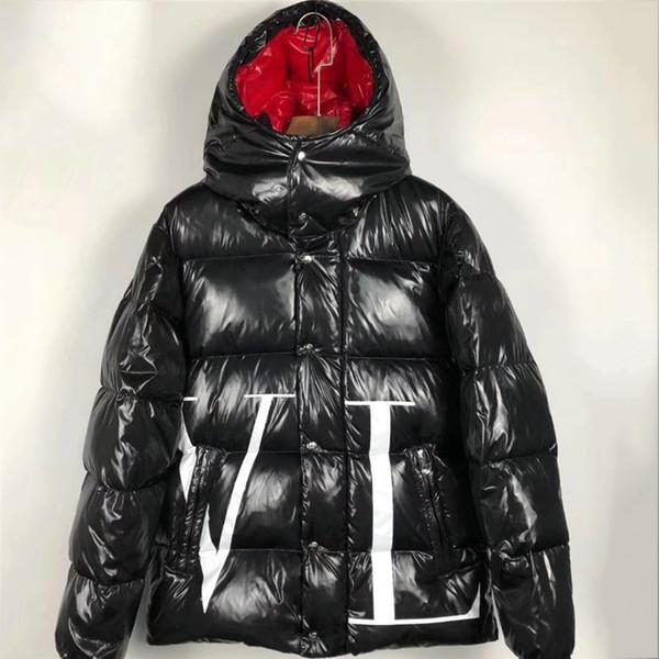 2020 Mens Women Jacket Winter Coat Thick Windbreaker Worm Coat Zipper Down Jacket Outdoor Sport Jackets Plus Size Men Clothing LJC B100971K