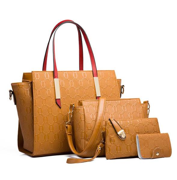 Großhandel 2019 neue Frauen Designer-Handtaschen weibliche Mutter Paketbeutel Hand Mutter Frachtbrief Schulterbeutel-Frauenbeutel B102046J