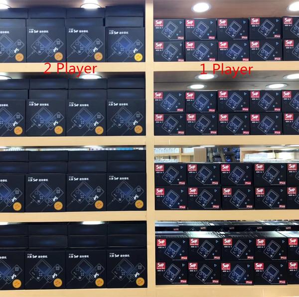 Sup Handheld Game Player Portátil Jogos de Console Retro Video FC Jogos Bulit em 400 Jogos de 8 Bits de 3,0 Polegada Tela LCD Colorido Mini Design