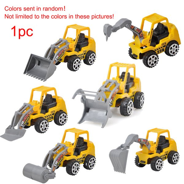 Kids Car Toys Funny Mini Engineering Truck Bulldozer Toys 6 Kinds Excavator Bulldozer Educational Children Playing
