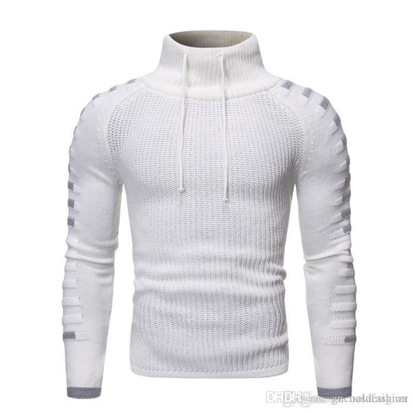 Knitted Sweaters Fashion Turtle Neck Panelled Slim Clothes Casual Long Sleeves Mens Clothing Winter Mens Designer Fashion Mens Clothing Women Clothing Mens Jeans Pants Hoodies Hiphop ,Women Dress ,Suits Tracksuits,Ladies Tracksuits Welcome to our Store