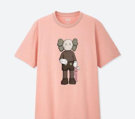 2019 Tasarımcı T Shirt Moda Erkekler Yaz Tişörtlü uniqlo * KAWS * Susam Sokağı Kadınlar Marka Tişörtlü Lüks Unisex Son Sürüm Yeni Tops