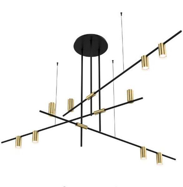 Nordic Modern Gold LED luces colgantes dormitorio comedor cocina hanglampen voor eetkamer E27 LED lámpara Edison bombilla