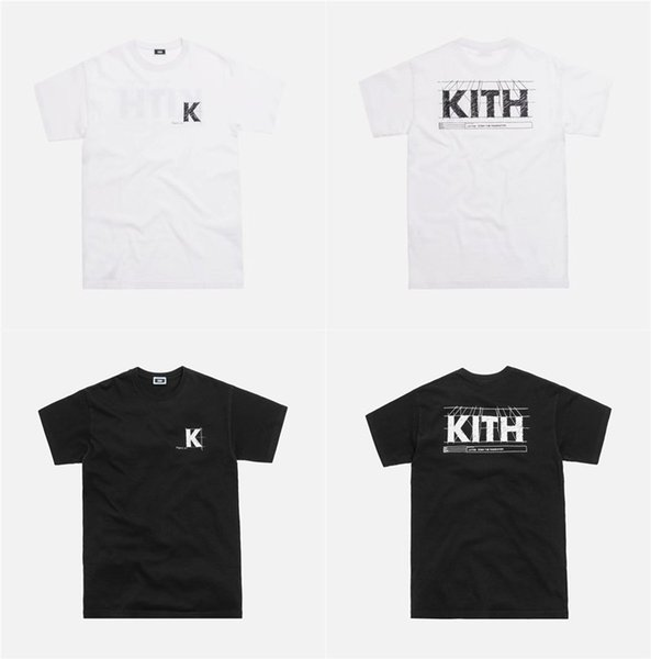 19ss KITH Blueprint Tees T Shirt Hombres Mujeres alta calidad Kith camiseta Hip-hop Harajuku High Kith camisetas
