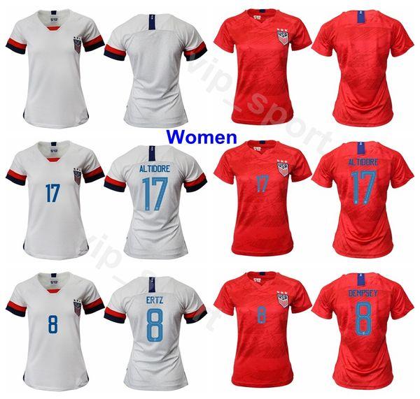 cheap for discount db567 ceddd 2019 Women 2019 World Cup Soccer 17 Tobin Heath Jersey 19 Crystal Dunn 2  Mallory Pugh 18 Ashlyn Harris Girl Football Shirt Kits Uniform From ...
