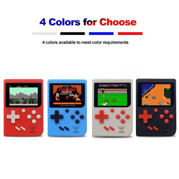 Portable rétro portable console de jeu jeux vidéo mini arcade jeu joueur machine 2.4inch écran d'affichage cadeau pour les enfants