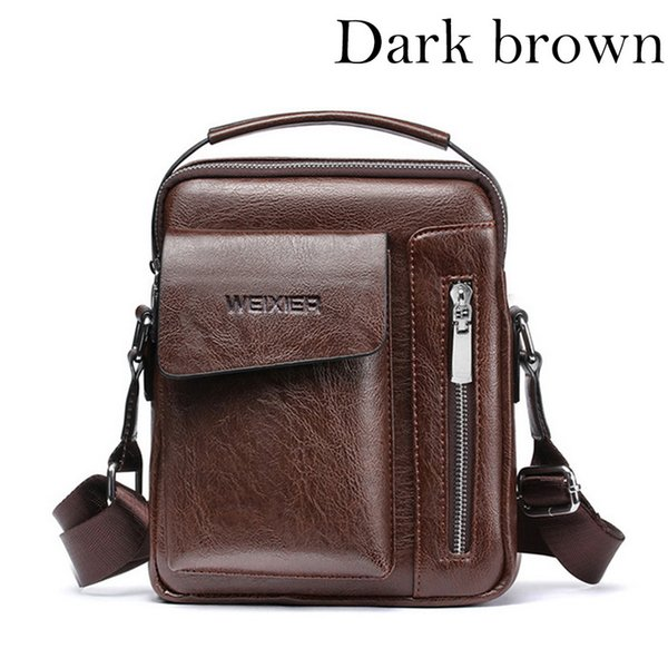 В темно-коричневый