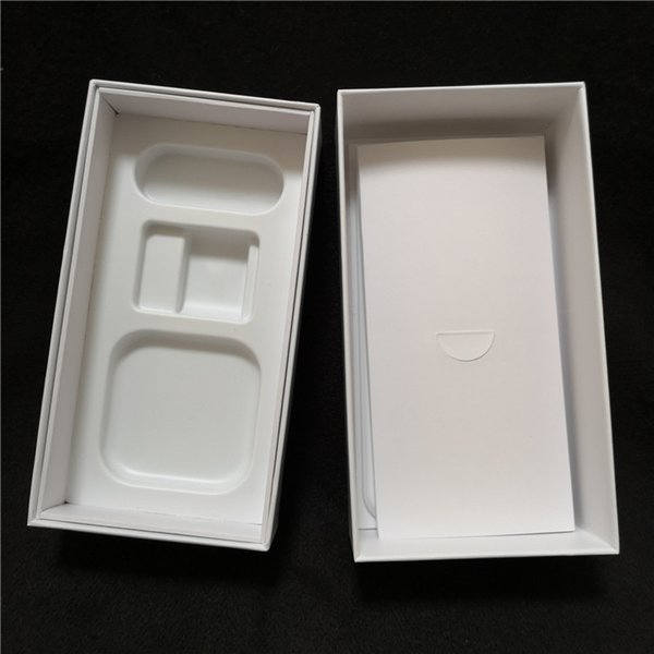 Cell Phone Boxes empty packaging AU version pure white customizable pattern no accessory with instructions tray for iPhone 6 7 8 x xr xs max