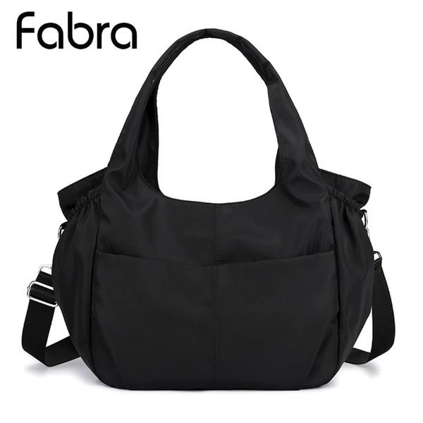 Bolsos de las mujeres Hobos Messenger Bags Ladies Hombro Bolsas de Nylon impermeable de gran capacidad Casual Totes Mujer Crossbody
