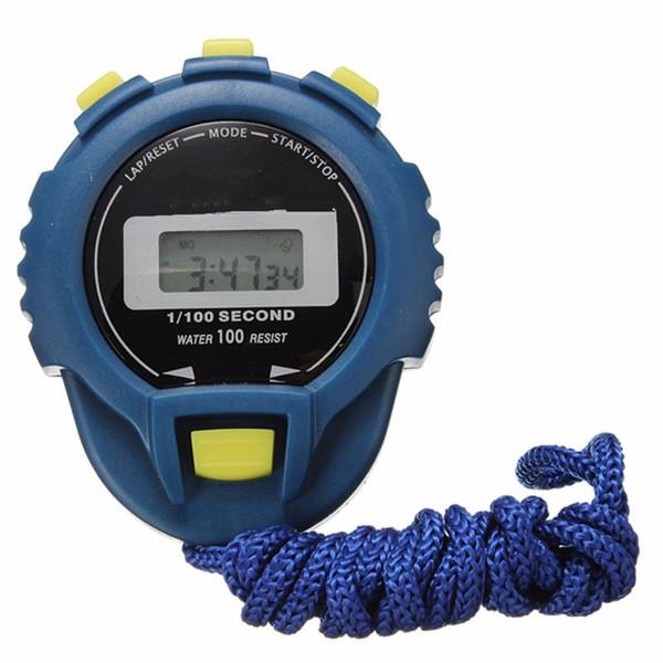 Spor Salonu Adım Adımsayar Eğitim LCD Dijital Sayaç Chronograph Zamanlayıcı Kronometre Spor Kilometre Sayacı Alarm İzle