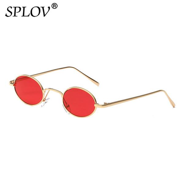 Atacado Vintage Oval Steampunk Óculos De Sol Dos Homens Das Mulheres Designer de Marca de Metal Pequeno Óculos De Sol Retro Óculos De Condução Oculos De