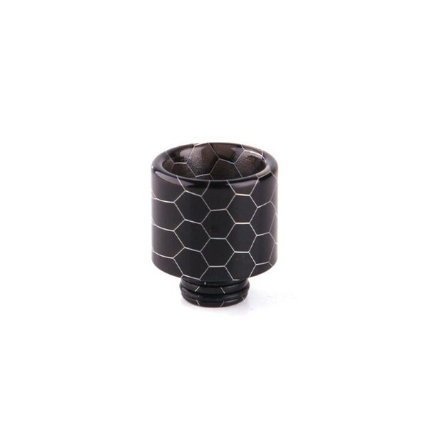 Colorful 510 Drip Tip Resin Snake Honeycomb Wide Bore Mouthpiece Fit EGO ONE Vaporizer 1453 TFV8 BABY Tank Atomizer Hot Cake