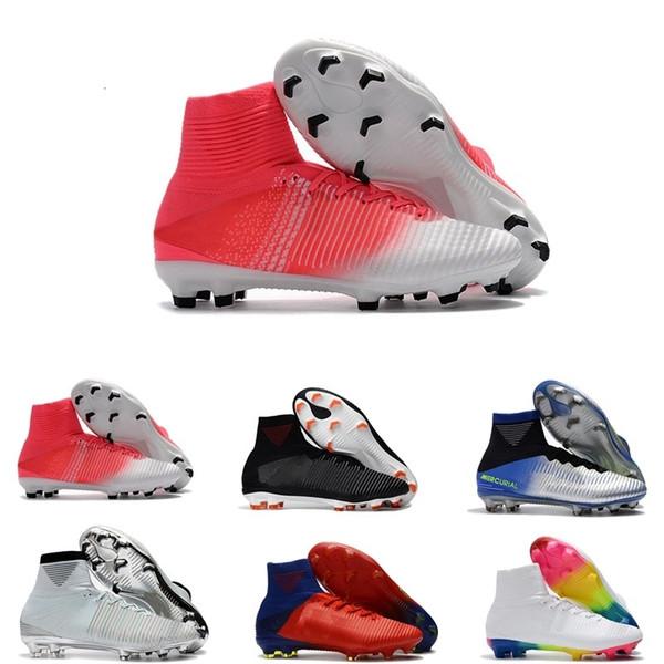 Мужские CR7 Mercurial х EA SPORTS Superfly V FG футбол обувь Magista Obra 2 мальчиков Футбол Бутсы Женщины бутсы Молодежь Криштиану Роналду