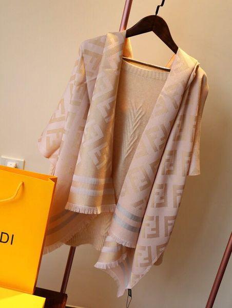 201907 nuova sciarpa in cotone autunno / inverno moda sciarpe in cotone super morbido per uomo e donna qualità classica scialle FF 180 * 70 cm